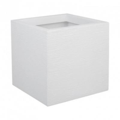 Carré Graphit up Blanc cérusé 21L 29,5x29,5x29,5cm