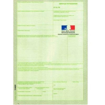 Certificat phytosanitaire