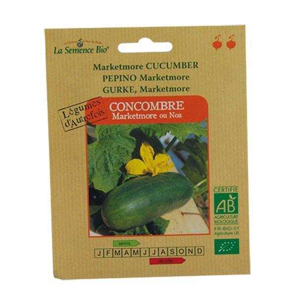 Graines bio concombre marketmore