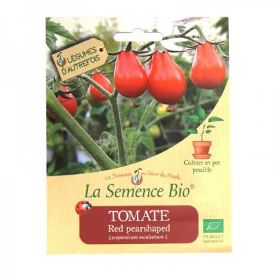 GRAINES BIO - TOMATE RED PEARSHAPED