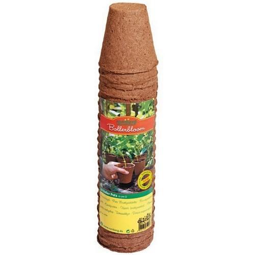 24 biodegradable pots Ø 6cm