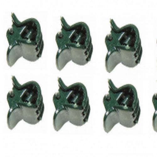 10 orquidea clips tamaño S