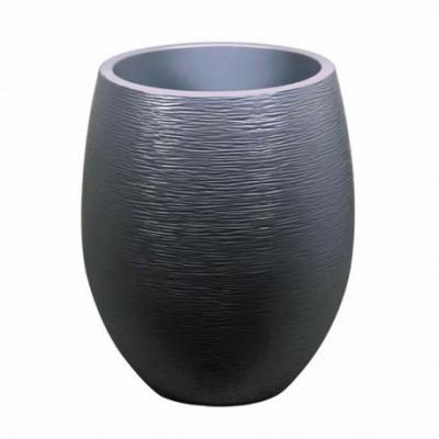 Pot egg Graphit Gris anthracite GM 50x60cm 53L