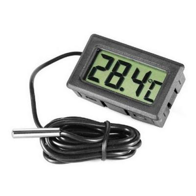 Digital Thermometer black