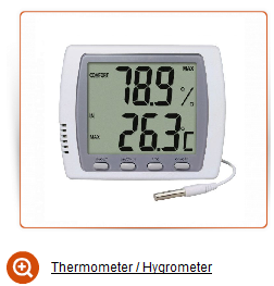 Thermometer hygrometer sale for orchids plants uk de